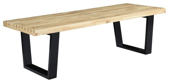 Sauna 4' Wood Bench