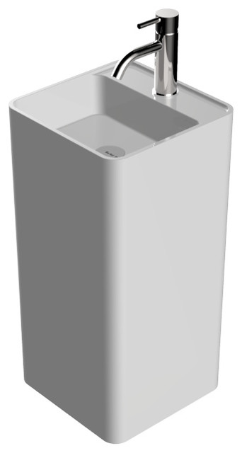 Badeloft Stone Resin Freestanding Sink