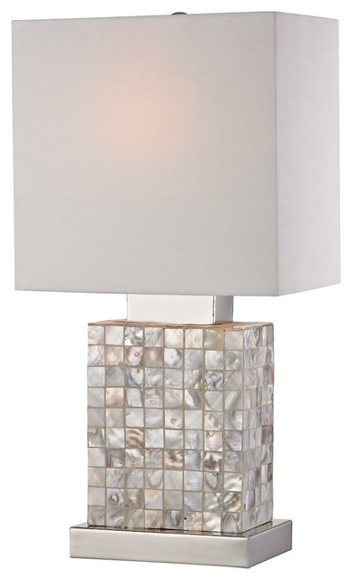 Table Lamp Mini Mother of Pearl Lamp