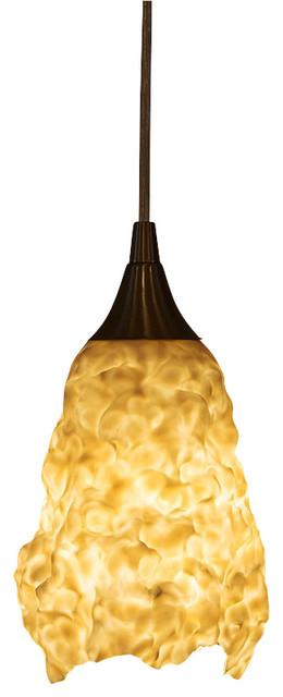 Sculptural porcelain pendant light organic pendant lighting by sculptural porcelain pendant light organic aloadofball Choice Image