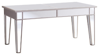SEI Mirage Mirrored Cocktail Table