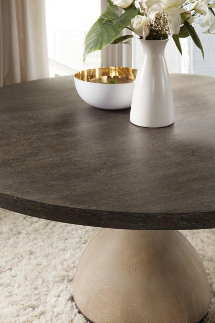 "Miramar Point Reyes Botticelli 60"" Round Dining Table"