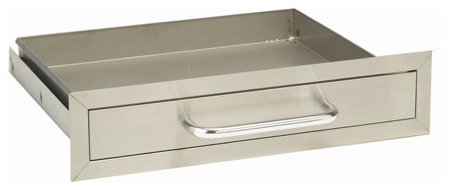 Single Drawer, Stainless Steel