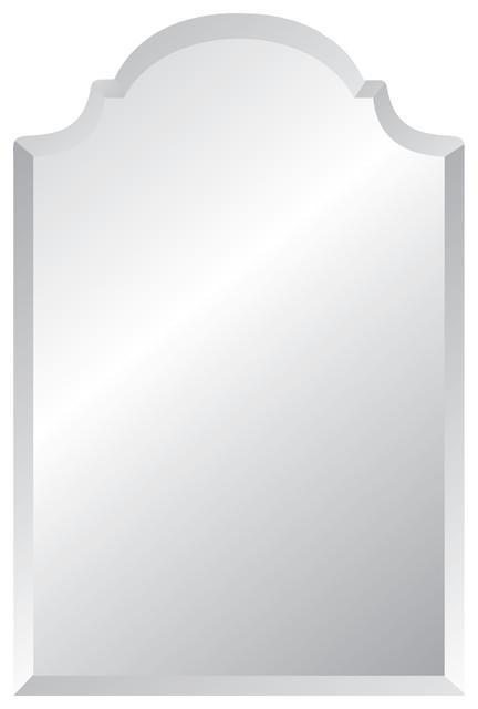 "Aster Frameless Mirror, 24""x36""."