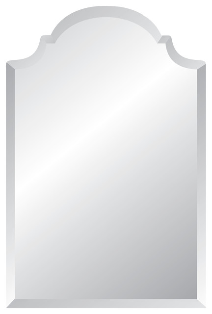 Regal Frameless Mirror With Polished Beveled Edges 24 X36