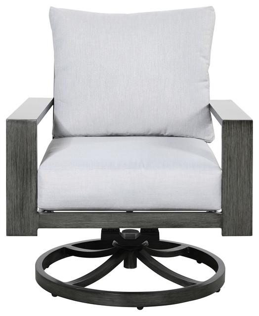 Charmant Emerald Home Rockport Swivel Rocker Chair