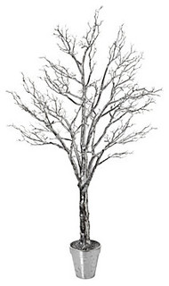 7 Silver Twig Potted Tree Modern Plants By Z Gallerie