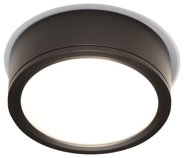 Contemporary outdoor flush mount lighting : Tube indoor or outdoor led flush mount contemporary