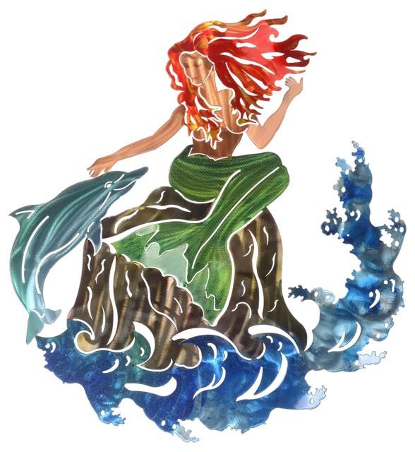 Wall Art Large Mermaid.