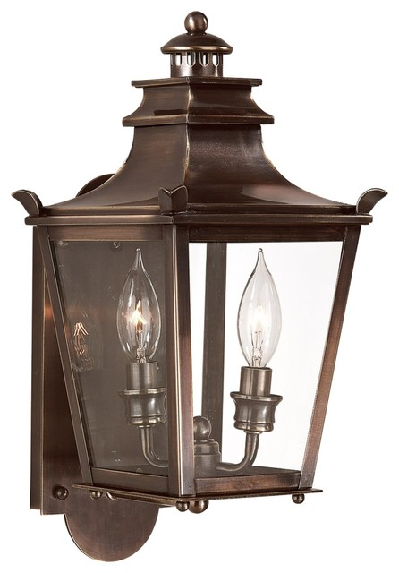 Traditional Bronze Wall Lights : Dorchester 16