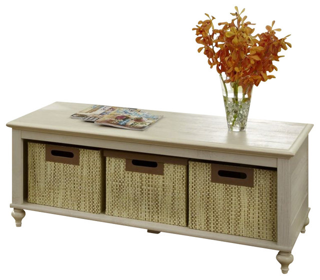 Kathy Ireland By Bush Volcano Dusk Coffee Table In Driftwood Dreams