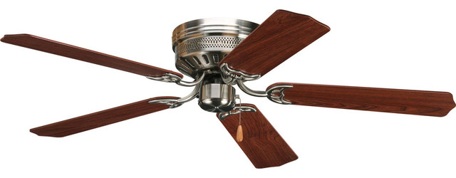 Airpro Indoor Ceiling Fans, Brushed Nickel.