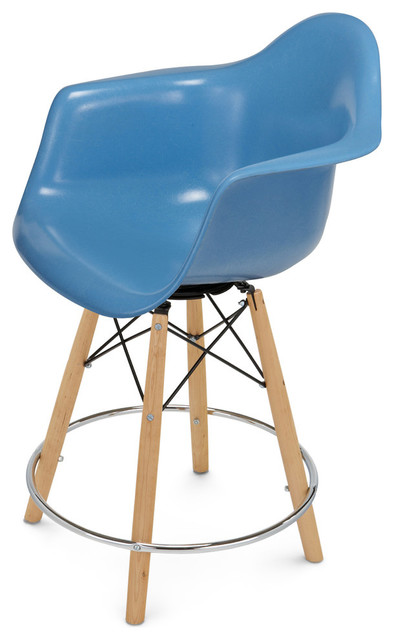 Modernica Dowel Counter Stool Base With Arm Shell Chair  : kids step stools and stools from www.houzz.com size 394 x 640 jpeg 43kB