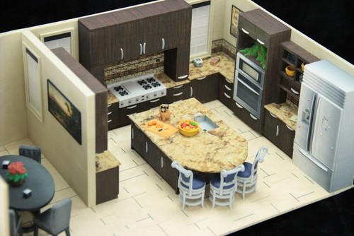 3d Printed Home Interior Landscape Models What Are