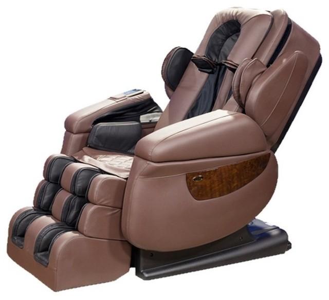 Luraco I7 Irobotics 7Th Generation 3D Full Body Heat Massage Chair  Contemporary Massage Chairs