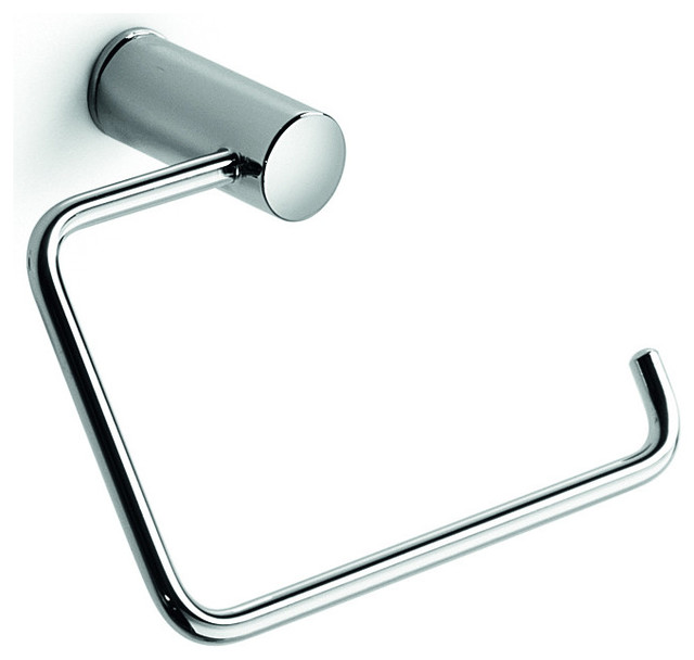 Lb Picola Brass Small Towel Ring Holder Polished Chrome
