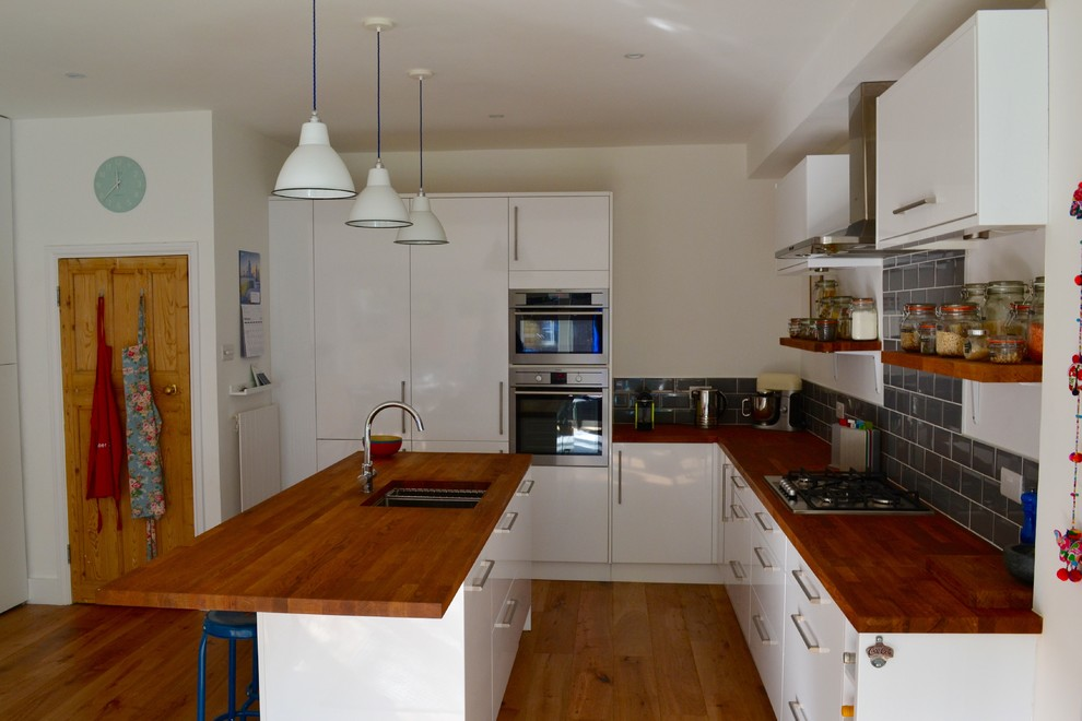 South London 1930s Terraced House Kitchen Diner Extension Contemporary London Houzz