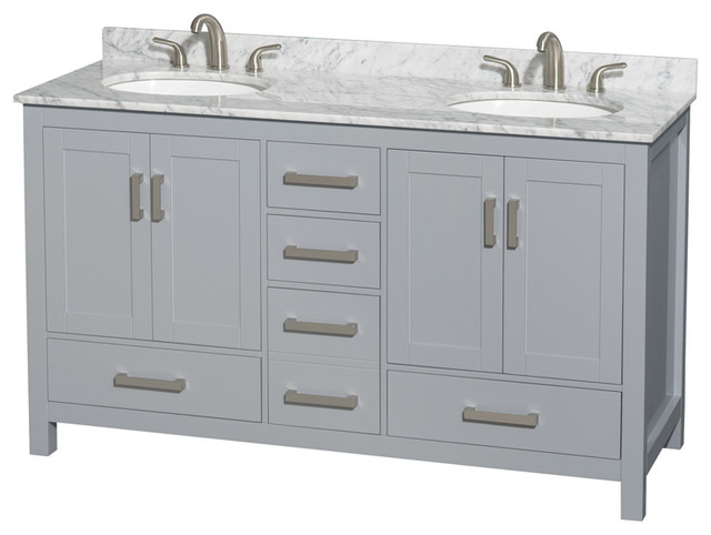 Sheffield 60 Double Bathroom Vanity.