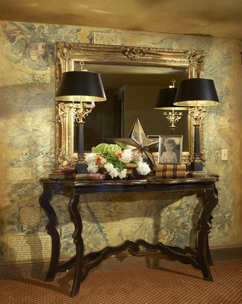 The shabby nest this week 39 s ideabook on houzz how to Entry table design ideas