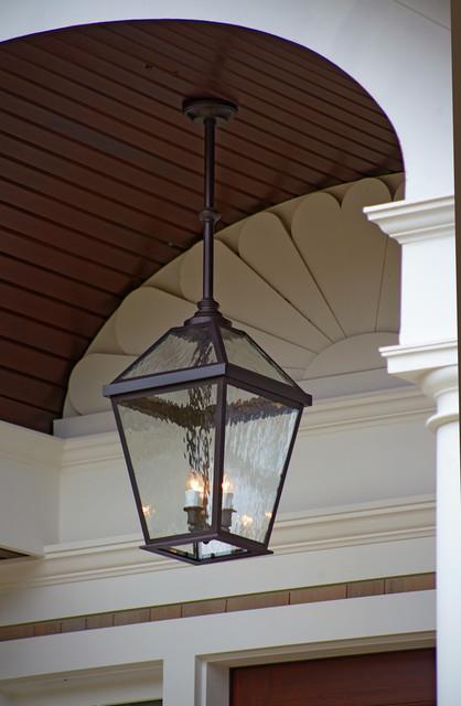 London™ Lantern Porch Light Close up Traditional