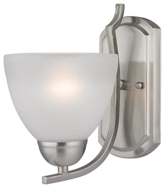 Brushed Nickel Wall Mount Lighting - Transitional - Wall Sconces - by EliteFixtures