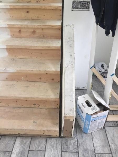 New Construction custom railings - BEFORE