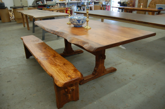 Awesome Live Edge Farm Tables With Dining Table