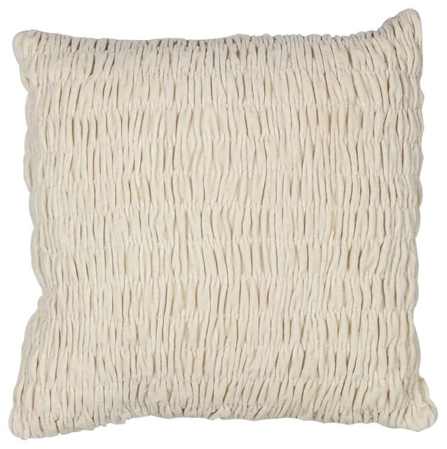 Velvet 100% Polyester Texture Pillow - Contemporary - Decorative Pillows - by HedgeApple