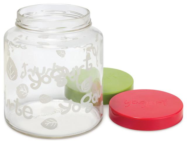 Euro Cuisine 2 Qt Yogurt Maker Glass Jar