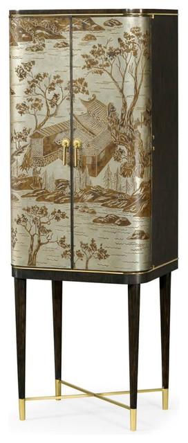 Mid Century Style Bar Cabinet