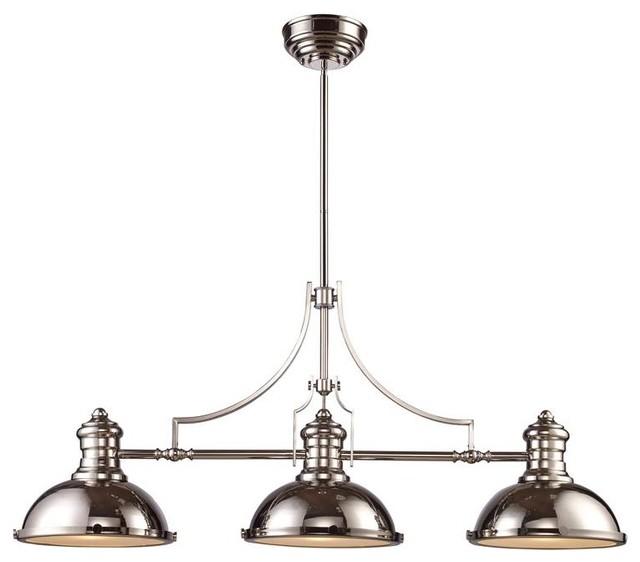 3-Light Billiard Lamp
