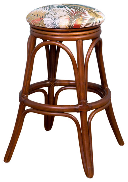 Universal 24 Quot Swivel Backless Barstool In Sienna With Soda