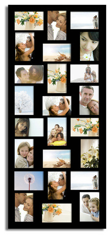 Adeco 24 Opening Collage Picture Frame Contemporary Picture