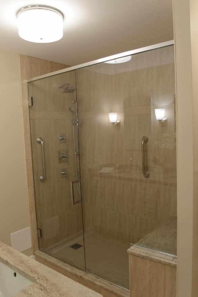 Wilmette Condo Bathrooms