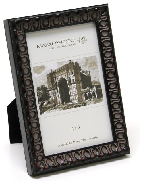 """Casa Bella Antique Frame, Mahogany Leaf, 5""""x7"""""""
