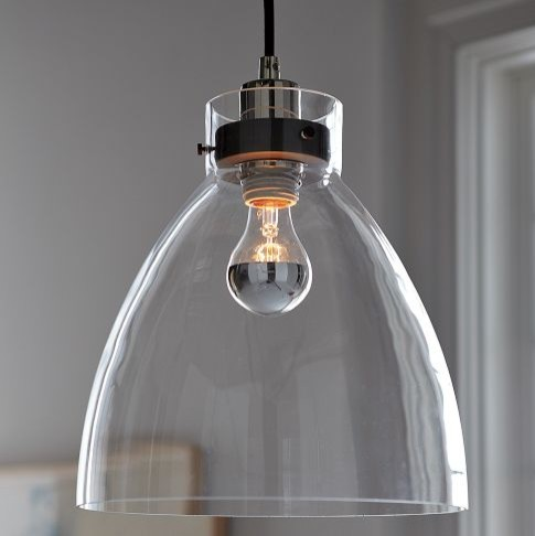 Hi, Can You Tell Me If I Can Get This Light Industrial Glass Pendant In