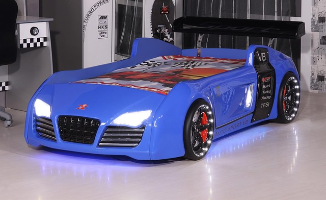 Audi race car bed - Camas infantiles coches ...