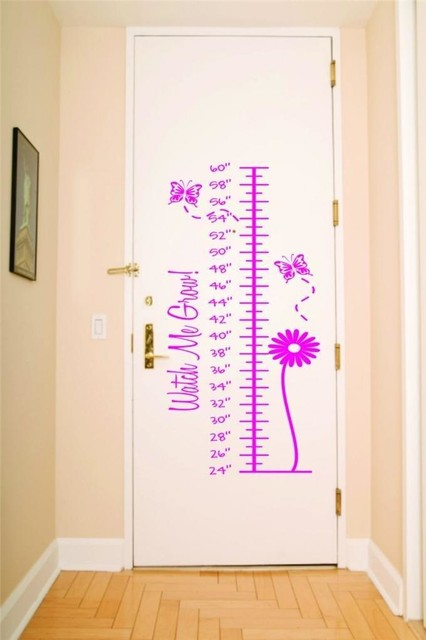 Spring Time Watch Me Grow Measurement Growth Chart Decal 12x36