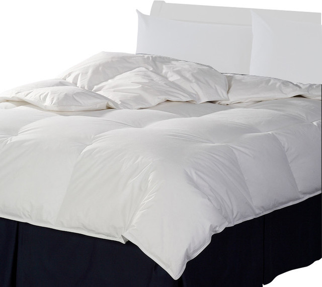Canadian White Down Comforter 90 X 78 Contemporary Duvet Inserts