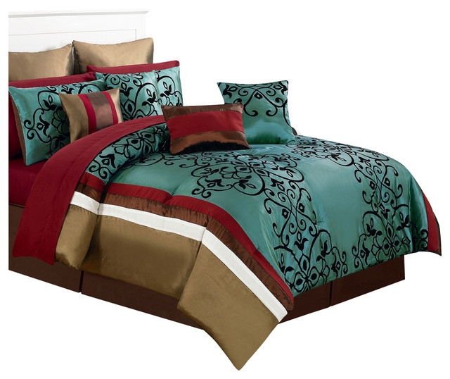 Eve Room In A Bag Bedroom Set, Queen, 24 Piece