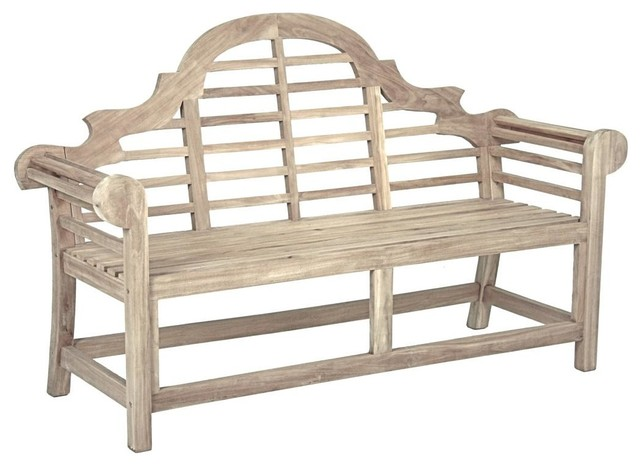 Piccadilly 3-Seater Teak Garden Bench