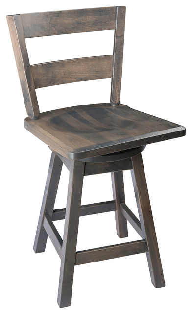 Tremendous Swivel Bar Stool Maple Wood With Straight Back Antique Slate Counter Height Bralicious Painted Fabric Chair Ideas Braliciousco