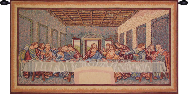 Last Supper Tapestry Traditional Tapestries By