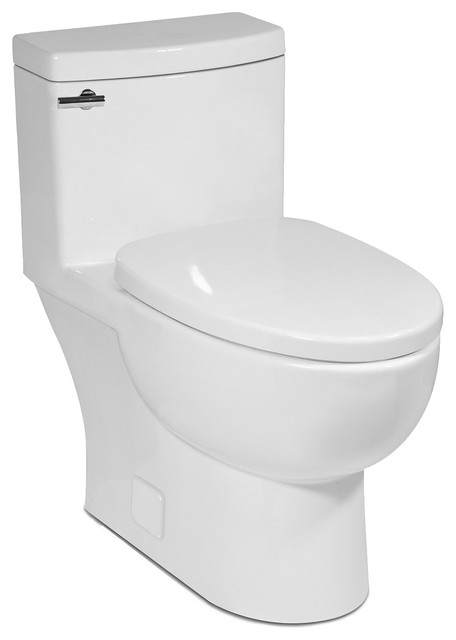 Malibu Ii 1p 1 28gpf Compact Elongated Toilet