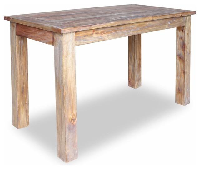 vidaXL Solid Reclaimed Wood Dining Table 47.2\
