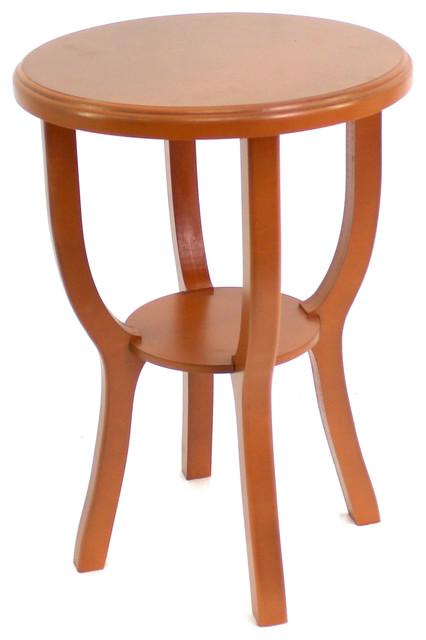 Enjoyable Homeroots Furniture Country Cottage Style Bright Orange Wooden Stool Beutiful Home Inspiration Truamahrainfo