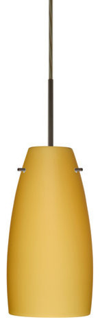 Besa Lighting 1jt-1512vm-Led Tao 1 Light Led Cord-Hung Pendant.