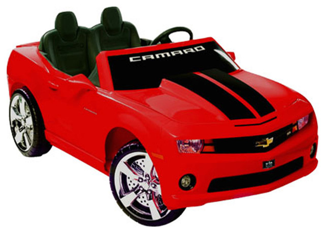 kids 39 chevrolet camaro play vehicle red contemporary kids toys and games by clickhere2shop. Black Bedroom Furniture Sets. Home Design Ideas