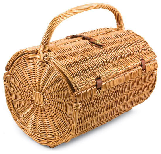 Picnic Basket With Accessories, Serves 4.