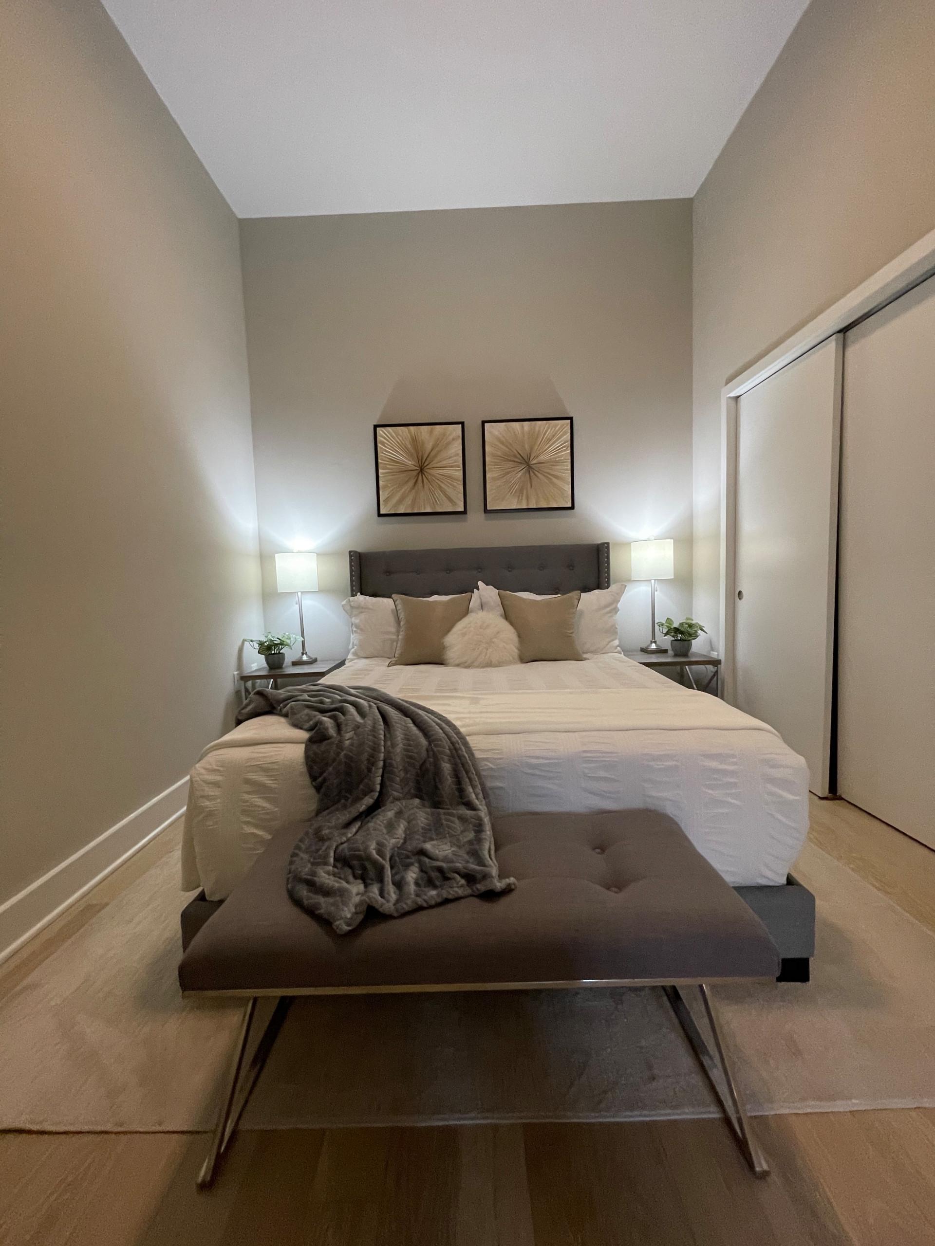 Luxury Studio Bedroom